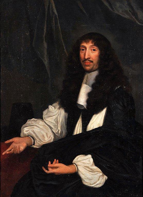 Ecole Française du XVIIème siècle - Portrait de magistrat