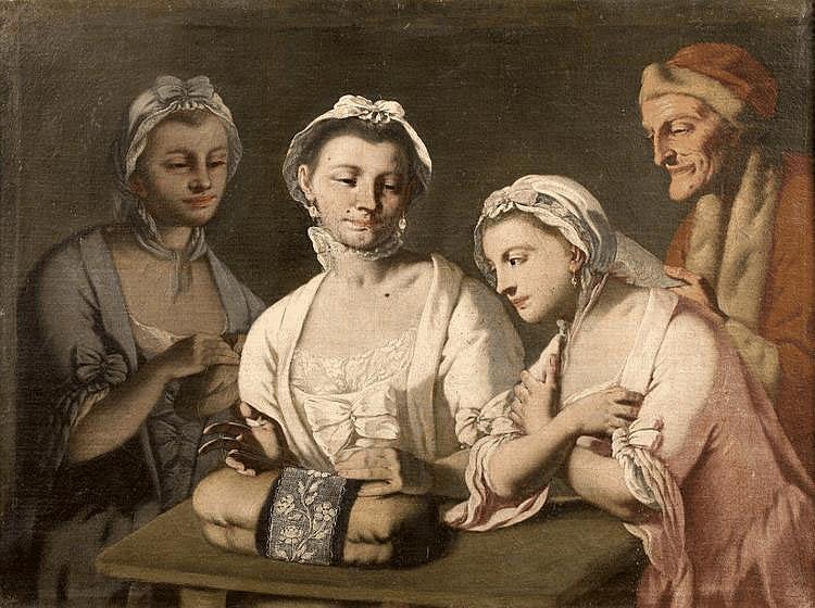 Ecole Napolitaine vers 1740, entourage de Giuseppe Bonito