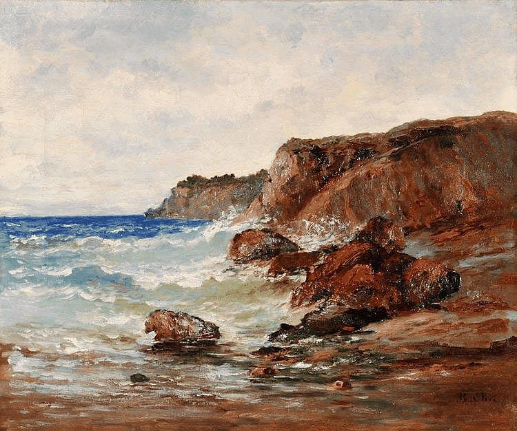 Jean-Baptiste OLIVE - La côte près de Marseille