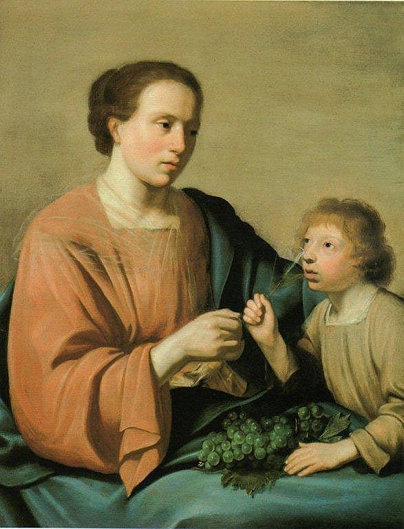 Pieter Frans de GREBBER - Allégorie du goût