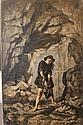 Alexandre Antigna (1817-1878). Pécheur de poulpe à Cap d'Ail