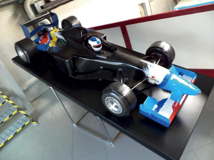 maquettes de soufflerie originales renault formule 1 benetto. Black Bedroom Furniture Sets. Home Design Ideas
