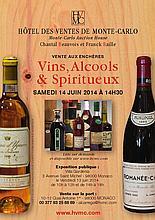 Ensemble de 5 bouteilles 1 bouteille VDP DES ALPES MARITIMES