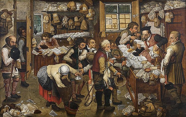 Pierre Brueghel le Jeune (Bruxelles, 1564-Anvers, 1637/38)  L'avocat de village