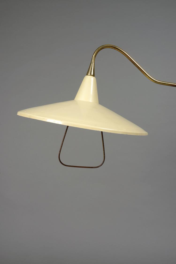 Attribu arredoluce di monza lampadaire circa 1950 - Lampadaire bras articule ...
