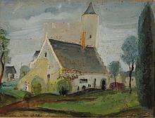 Lilian WHITTEKER (1895-1978) L'église