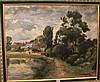 Abel Pierre RENAULT (1903-1992)   Village au bord de la rivière, Abel Pierre Renault, Click for value