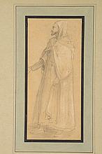 ISIDORE PILS (PARIS, 1813 - DOUARNENEZ, 1875) Etude d'arabe