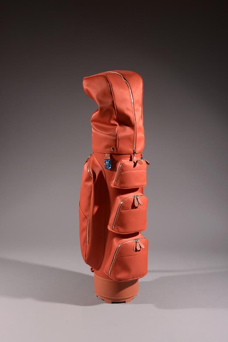 hermes beau sac de golf en toile de coton et polyamid