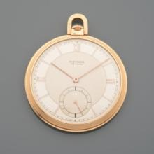 MOVADO MONTRE DE POCHE  En or rose, No 241033, a