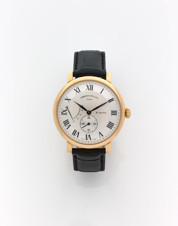 eberhard co montre bracelet pour homme huit. Black Bedroom Furniture Sets. Home Design Ideas