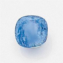 SAPHIR SUR PAPIER de couleur bleue à reflet mauve