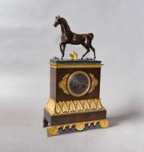Pendule borne <br> vers 1840
