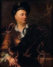 École début du XVIIIe siècle   Portrait d'artiste   Huile sur toile