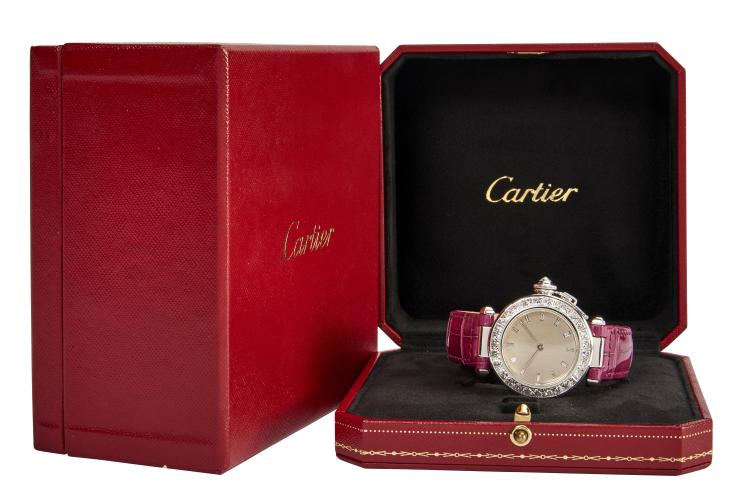 Cartier pasha haute joaillerie n 662143 for Haute joaillerie cartier