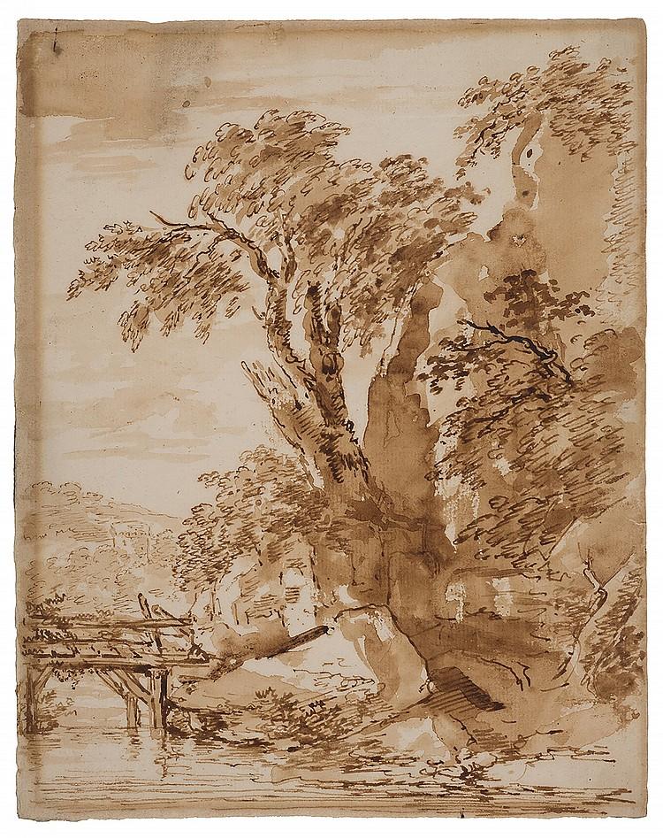 CHARLES-FRANÇOIS DE LA TRAVERSE (1726-1780, Attribué à