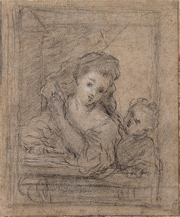 JACQUES-FRANÇOIS COURTIN (1672-1752), Attribué à
