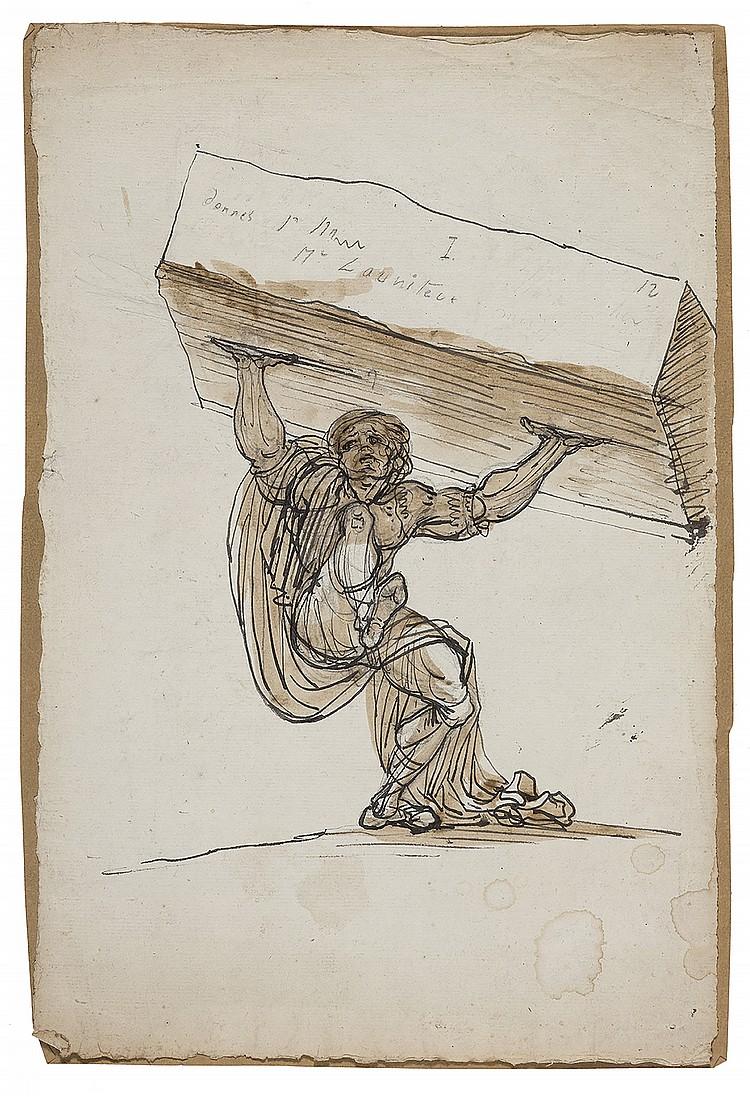 ÉCOLE ESPAGNOLE VERS 1800,  SUIVEUR DE GOYA