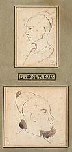 Attribué à EUGÈNE DELACROIX (1798-1863