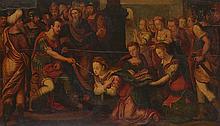 ENTOURAGE D' ANTHONIE CLAESSENS,  FLANDRES, CIRCA 1580