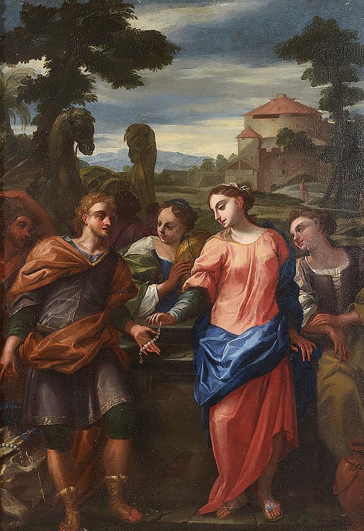 ÉCOLE ROMAINE, VERS 1700