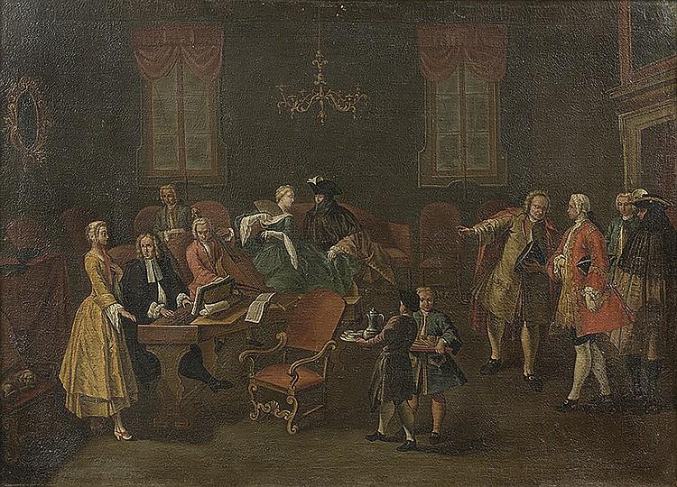 ÉCOLE VENITIENNE DU XVIIIeI