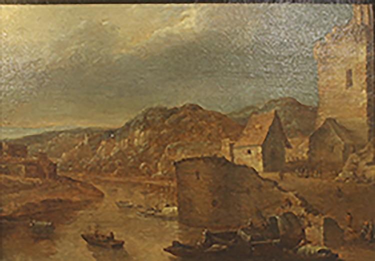ATTRIBUÉ À J. SOUKENS (XVIIIe SIÈCLE)