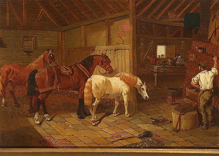JEAN-FRANCOIS HERRING SENIOR (1795-1865)