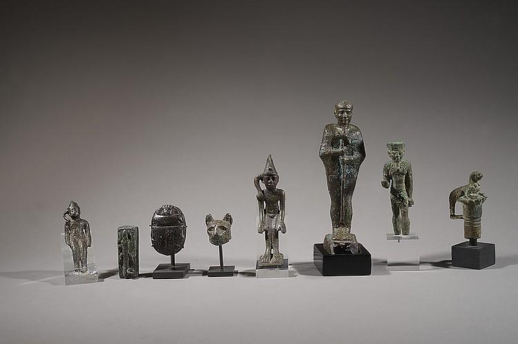 EGYPTE, BASSE-ÉPOQUE (664-332  AVANT J.-C) OU PÉRIODE PTOLÉ-  MAÏQUE (332-30 AVANT J.-C)