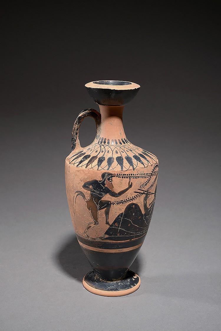 GRÈCE, ART ATTIQUE, 525-475 AVANT J.-C  Dans l' entourage du peintre de PRIAM