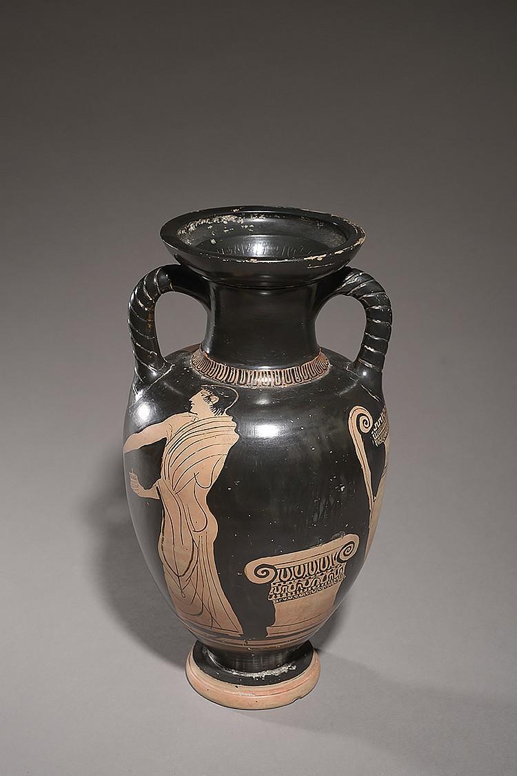 GRANDE-GRECE, ART CAMPANIEN  CA. 480-470 AVANT J.-C