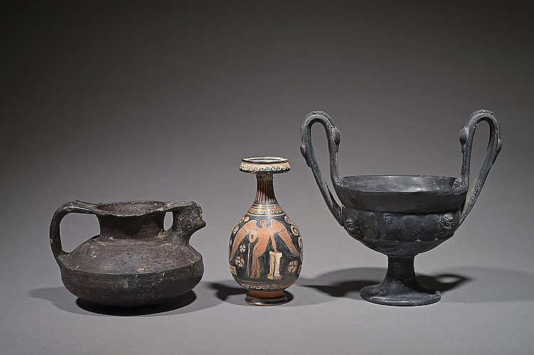 Vase du style bucchero nero