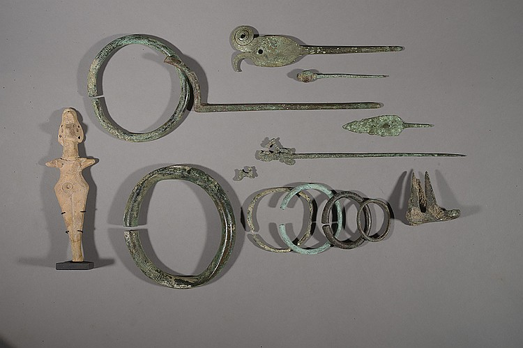 LURISTAN, 1000 - 600 SIÈCLE AVANT J.-C