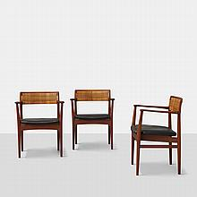 Eric Worts, Trio of W26 Armchairs