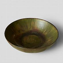Axel Salto, Glazed Stoneware Bowl for Royal Copenhagen