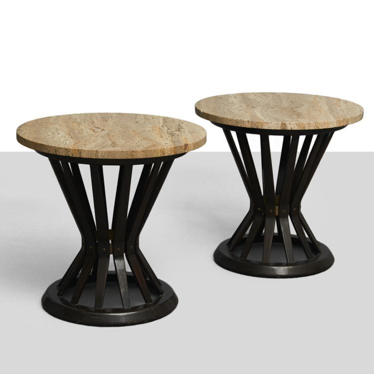 Edward Wormley for Dunbar, Side Tables