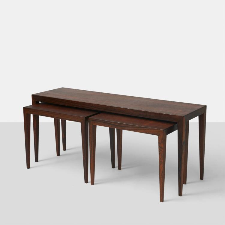 Severin Hansen Jr., Nested Coffee and End Tables