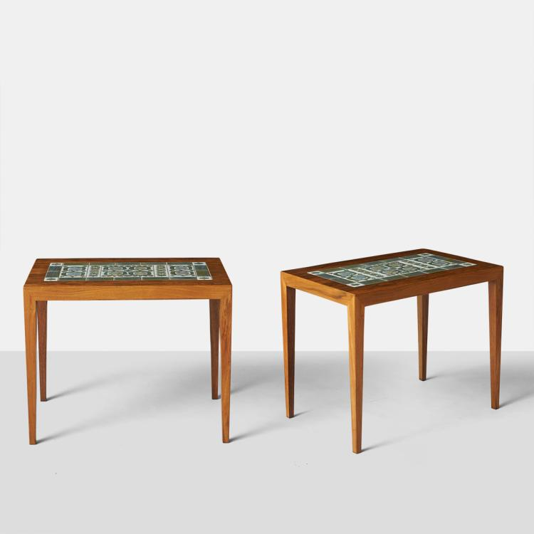 Severin Hansen Jr., Pair of End Tables
