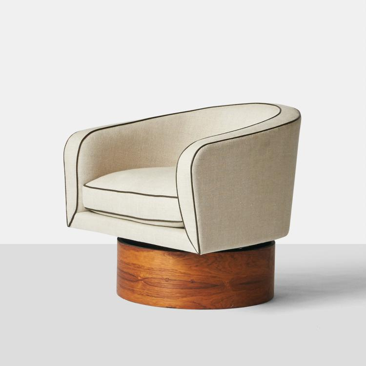 Milo Baughman, Swivel Chair