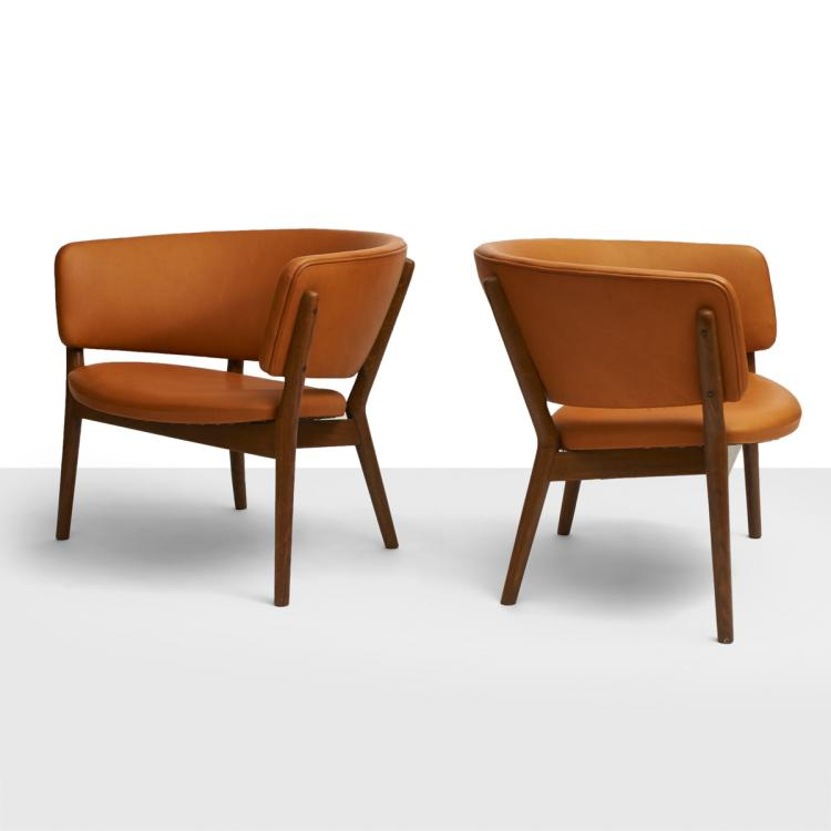 Nanna Ditzel, Club Chairs, Model #ND83
