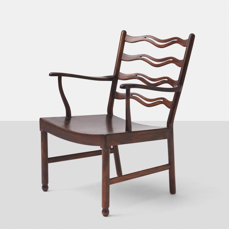Ole Wanscher, Lounge Chair for Fritz Hansen