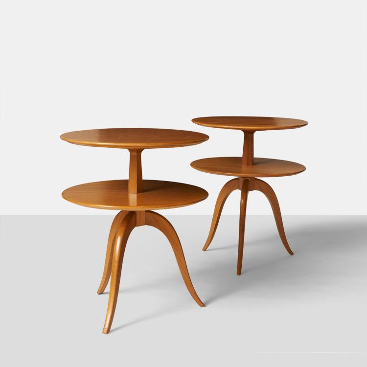 Paul Frankl, Two Tiered Occasional Tables