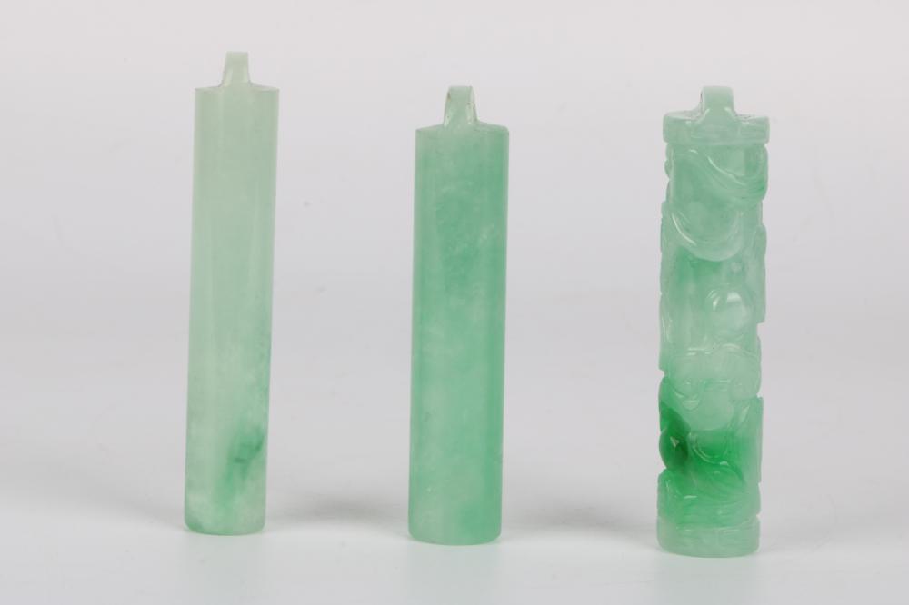 Set of Green jade