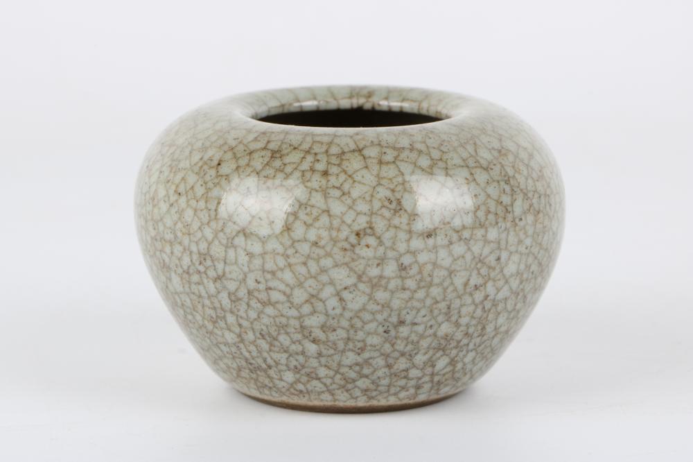 Ge glazed water jar