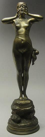 Alfred GREVIN (1827-1892) & BEER Ho! Hé! Femme