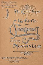 Henri ANCELOT - Le Voyage du Roi au Congo. Photos de He