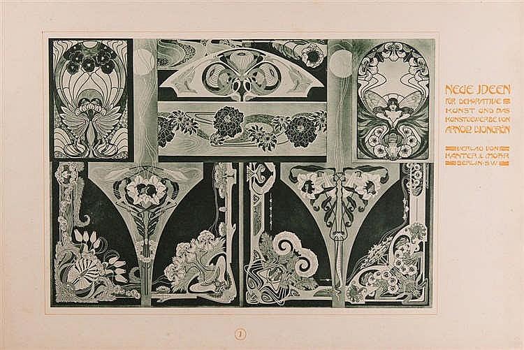 art nouveau arnold lyongr n neue ideen f r dekorati. Black Bedroom Furniture Sets. Home Design Ideas