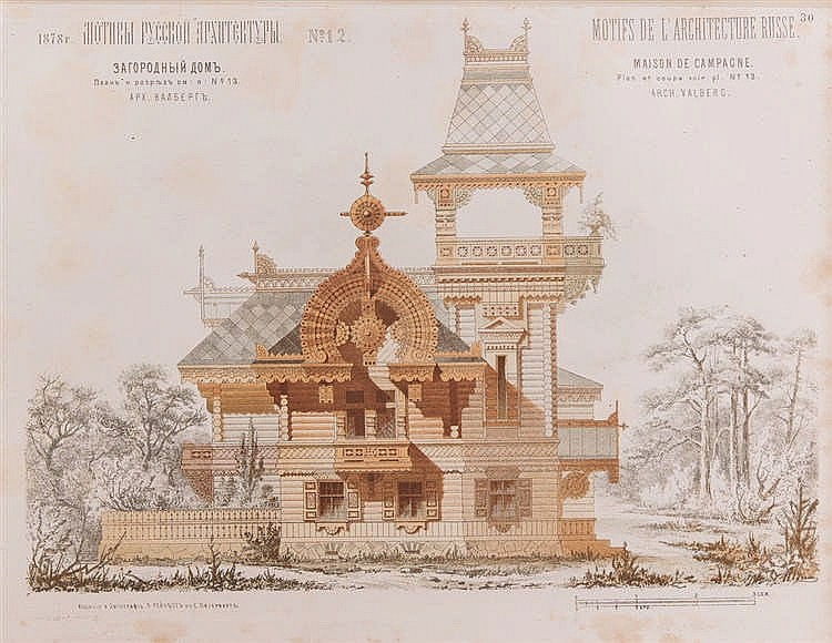 Architecture russe motifs d 39 architecture russe chois for Architecture russe