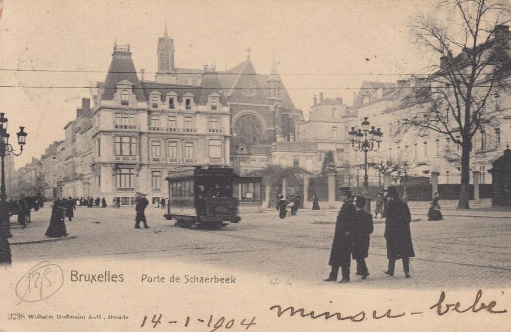 ANDERLECHT, Rouge-Cloître, Laeken, Saint-Gilles, Saint-