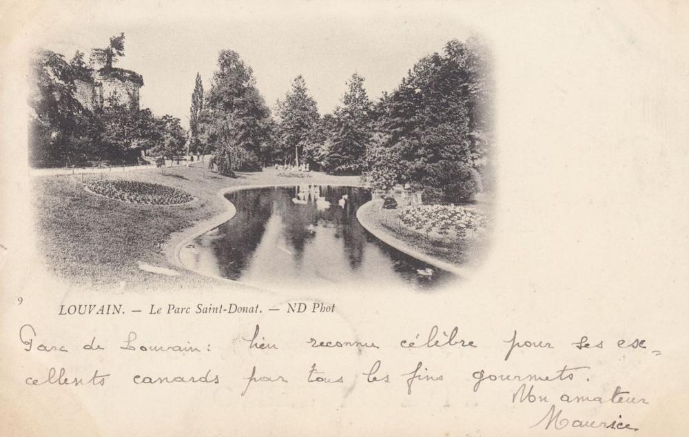 BELGIQUE: Louvain, Malines, Palais royaux & famille roy